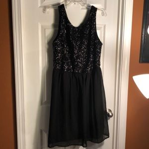 Black cocktail dress 1X